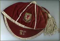 Brian Price's Wales Amateur International Football Cap 1971