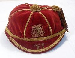 Ray Daniel's Wales Football Cap 1954-55 season