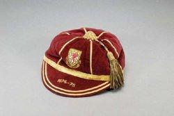 Gary Sprake's Wales International Football Cap 1974-75 season