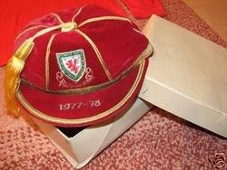 Wales International Football Cap 1976-77 season