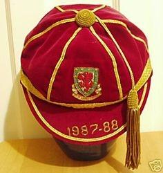 Wales International Football Cap 1987-88 season