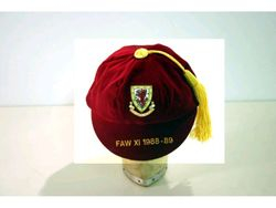Welsh Amateur FAW XI Wales International Football Cap 1988-89