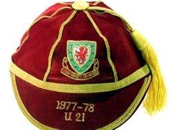 David Giles' Wales Under 21 International Football Cap 1977-78 season