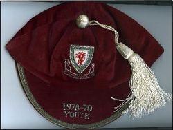 Frankie Jones' Welsh Youth Wales International Football Cap 1978-79