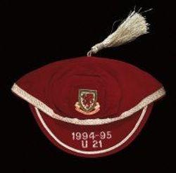 Wales U21 International Football Cap 1994-95 season