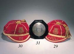 Jack Kelsey's Wales Football Caps 1957-58 & 1958-59