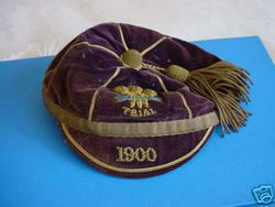 Cliff Pritchard's Welsh Trial Rugby Cap 1900