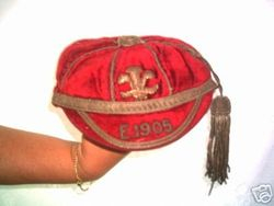 Wales International Rugby Cap v England 1905