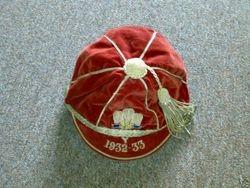 Wales International Cap 1932-33