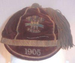 Wales Trial Rugby Cap 1905
