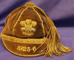 Wales Trial Rugby Cap 1925-6