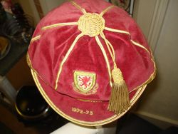Wales Football Cap 1972-73