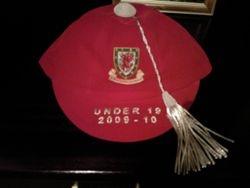 Lee Lucas' Welsh Under 19 Football Cap 2009-10