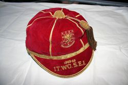 Ron Davies Wales Football Cap 1968-69