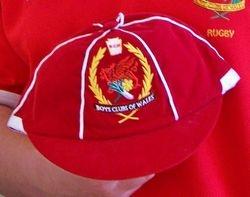 Boys Club of Wales Rugby Cap
