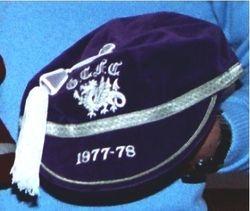 Glamorgan County Rugby Cap 1977-78