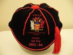 Bespoke Replica UWCC Honours Cap