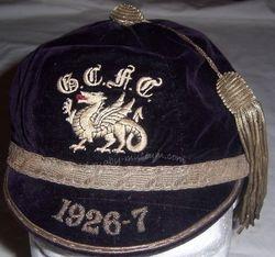 Glamorgan County Rugby Cap