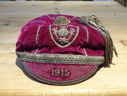 Bert Jenkins 1915 Great Britain Rugby League Cap