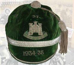 Devon County Honours Cap 1934-35