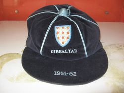 England Amateur Football cap v Gibraltar 1981-82