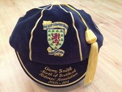 Garry Smith Scotland Football Referee Honours Cap 2005-2011