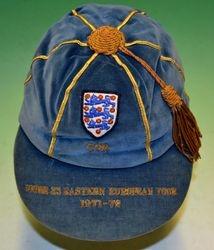 John Robson England U23 cap v Eastern Europe 1971