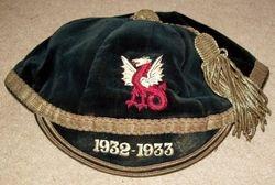 Llandovery College Honours Cap 1932-33