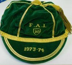 1973 FAI Republic of Ireland International Cap
