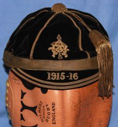 Royal Belfast Academicals Rugby Honours Cap 1915-16