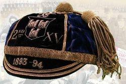 Wanderers RFC Honours Cap 1893-94