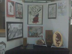 2011 Art IB Gallery DIsplay
