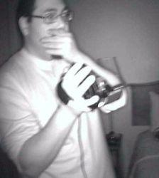 Tony Witnesses Paranormal Activity