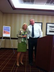 Judy Sebern Beachy & Dr. Lynch