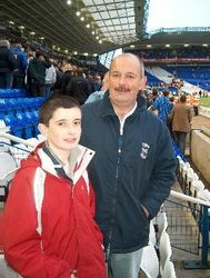 Donal at liverpool game
