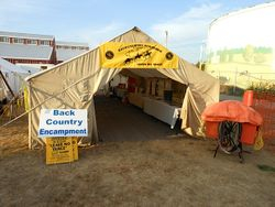 BCH :eave No Trace Encampment at Washington Horse Expo