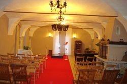 Pripravljena dvorana za koncert
