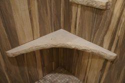 Shower Bench - concrete