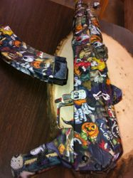 Halloween dipped AK pistol
