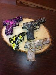 Dipped pistols