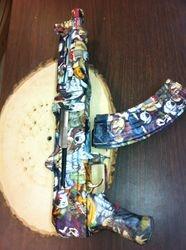 Fully assembled AK pistol
