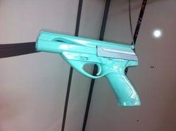 Beretta 22 - Tiffany blue with grey slide