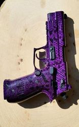 Sig mosquito 22 LR - purple snake skin