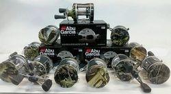 Abu Garcia hydro-dipped reels