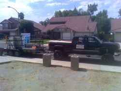 another truck and trailer of ours