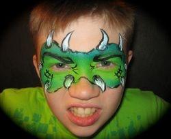 3-5 minutes monster mask