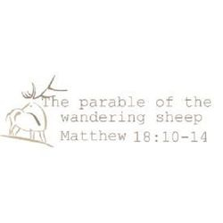 The parable of the wandering sheep