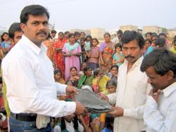 Cloths Distribution