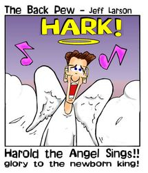 Harold the angel