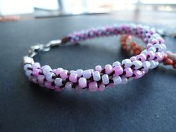 Kumihimo braided bracelets